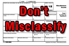 IRS worker missclassification program