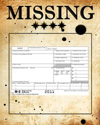missing or lost w-2