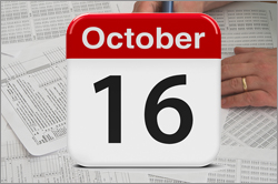 October 16th IRS Tax Filing Deadline