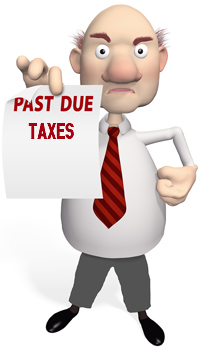 past due taxes IRS