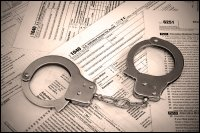 prison and not filing taxes