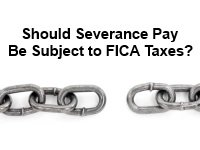 severance pay and taxes