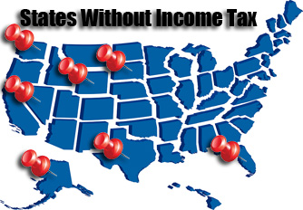states with no income tax