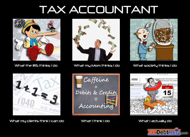 what tax accountants do meme