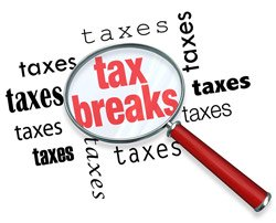 tax breaks and extensions